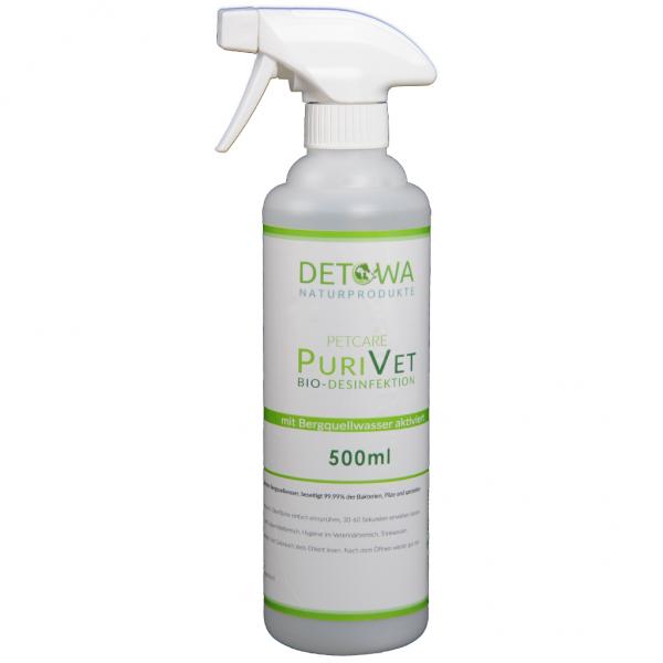 PuriVet 500 ml (zur Zeit nur mit Schnappdeckel erhältlich ) Desinfektionsmittel